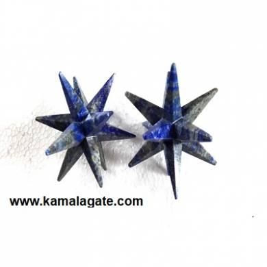 12 Points Lapiz Lazuli Healing Stars