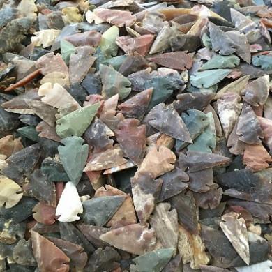 1 inch arrowheads