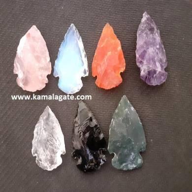 Gemstone Arrowheads