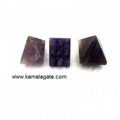 Amethyst 9 Pyramid Plate