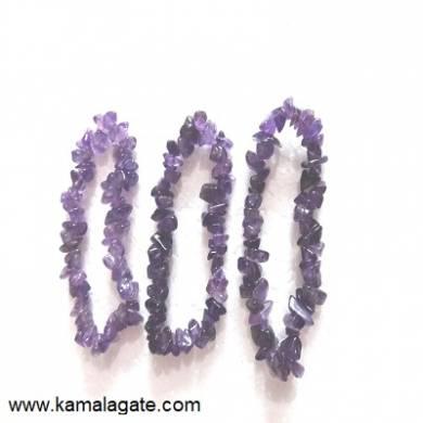 Amethyst  Chips Bracelets