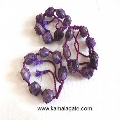 Amethyst Tumble stone Bracelets