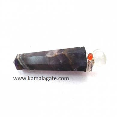 Amethyst Healings Wands With Crystal Ball