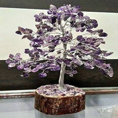 Amethyst 300 Chips Tree with Metal Roots