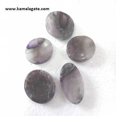 Amethyst Worry stones