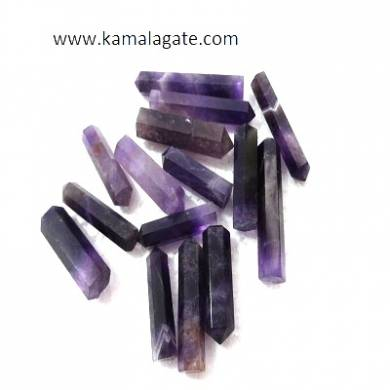 Amethyst single terminated pencile point