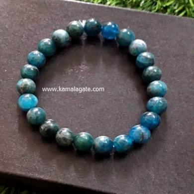 Apatite 8mm Beads Bracelet