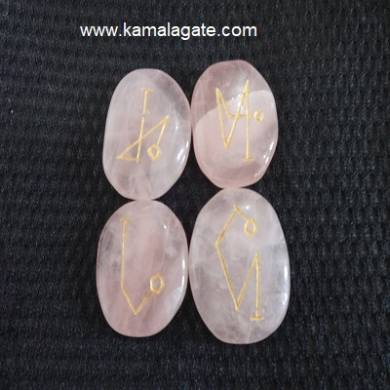 Arch Rose Quartz Angel Sets
