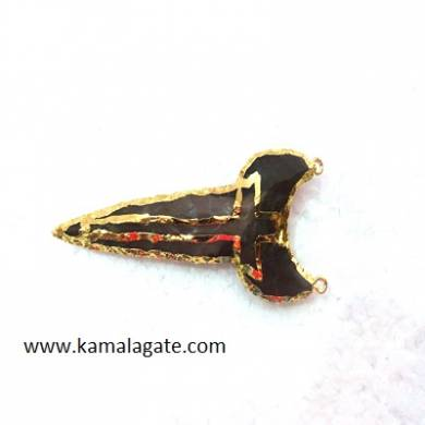 Arrowheads Shark Tooth Pendents with cross