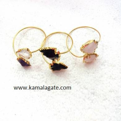Assorted Arrowheads Bangles (Golden)