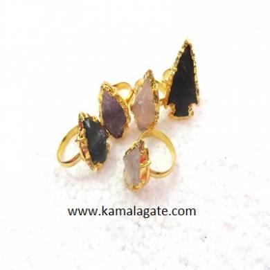 Assorted Arrowheads Rings (GOLDEN)