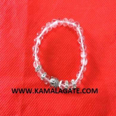 Bhuddha Crystal  Quartz Bracelets