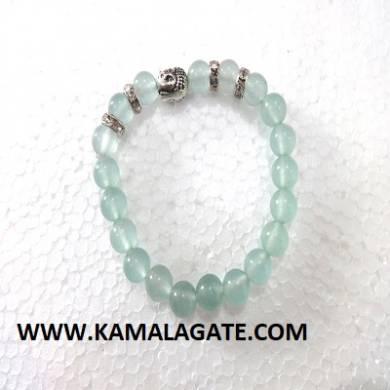 Bhuddha Aquamarine Bracelets