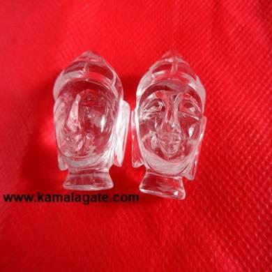 Bhuddha Head Crystal Quartz