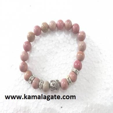 Bhuddha Rhodocrosite Bracelets