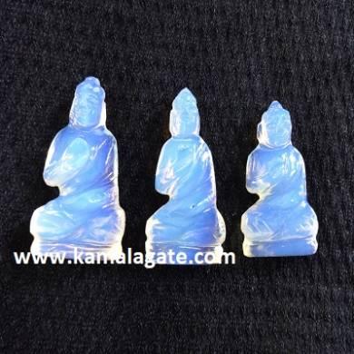 Bhuddha Sculpture Opalite Gemstone