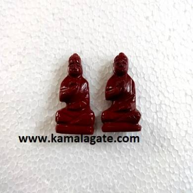 Bhuddha Sculpture Red Jasper Gemstone