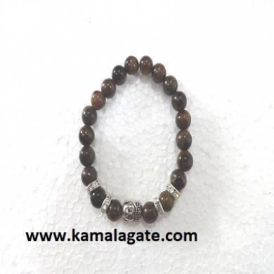 Bhuddha Tiger Eye Chakra Bracelets