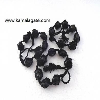 Black Jasper Tumble Stone Bracelets