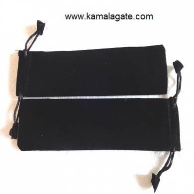 Black Velvet Stick Pouch