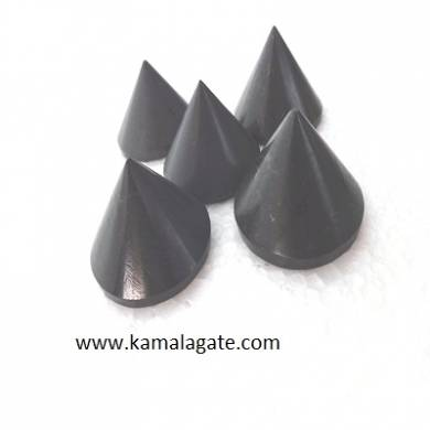 Black Turmoline Conical Pyramid