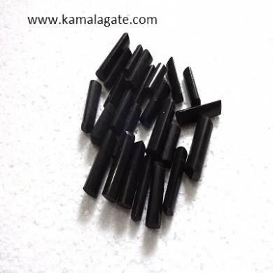 Black Turmoline Single terminated pencile point