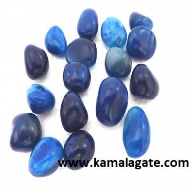 Blue Onxy Tumble Stone
