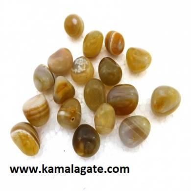 Bonded Cardelian Tumble Stone