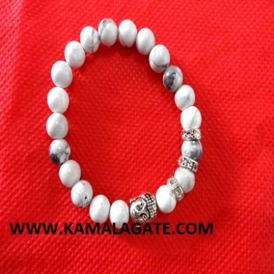 Bhuddha Howlite Bracelets