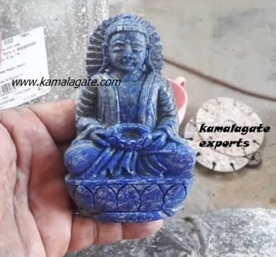Lapiz Lazuli Sculpture Buddha