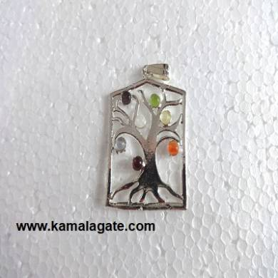 Chakra Cabs Tree Pendent