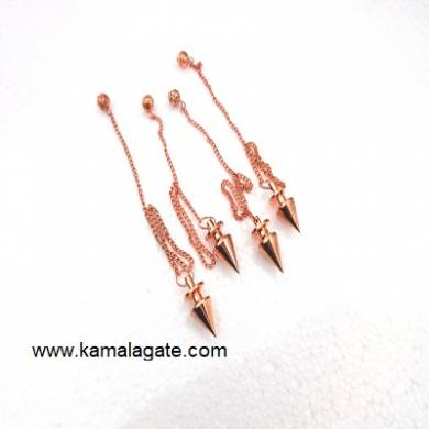 Copper Plain Cone Pendulum
