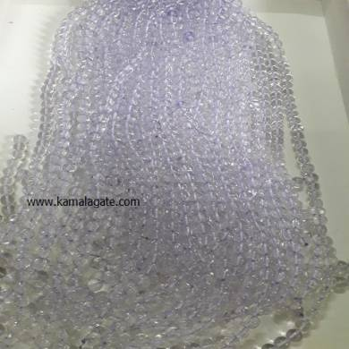 Crystal Quartz 8 mm Loose Beads For Jewelry Making