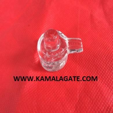Crystal Quartz Faceted Jaladhari ShreeYantra