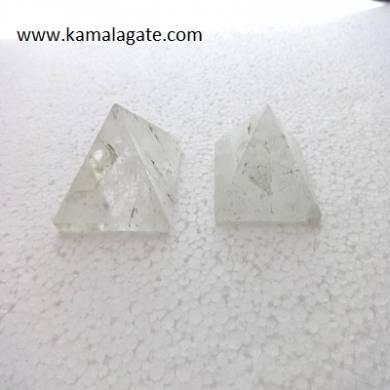 Crystal Quartz Small Pyramids