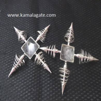 Crystal Quartz Spring Energy Generators
