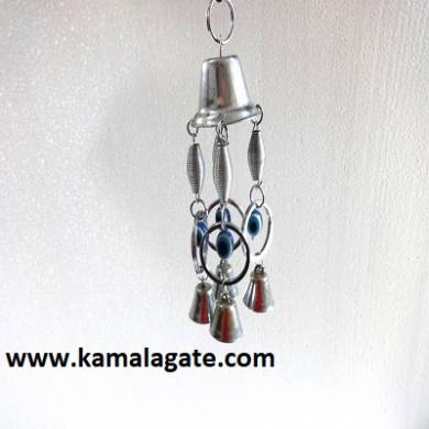 Evil Eye Wind Charms Silver