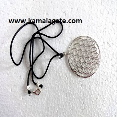 Flower of Life Silver Pendents