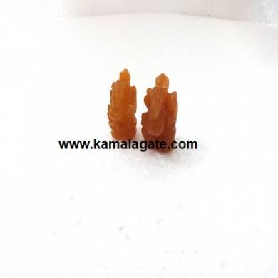 Ganesh Orange Aventurine