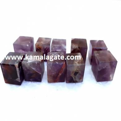 Amethyst Gemstone Blocks & Cubes