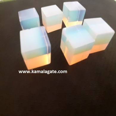 Opalite Gemstone Blocks & Cubes