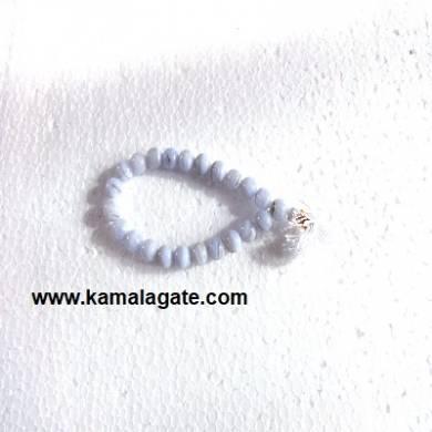 Gemstone Power Blue Lace Braceelets