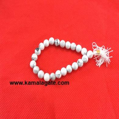 Gemstone Power Howlite Bracelets