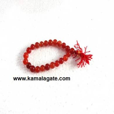 Gemstone Power Red Carnelian Bracelets