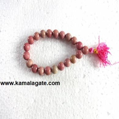 Gemstone Power Rhodocrosite Bracelets