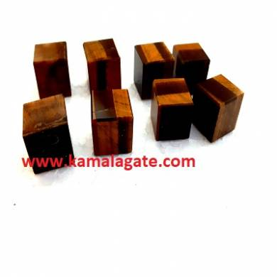 Tiger Eye Gemstone Blocks & Cubes