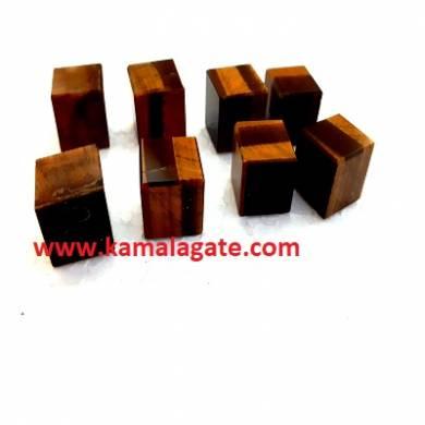Tiger Eye Gemstone Blocks & Cubes