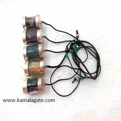 Gemstone Chips Bottel Pendulums