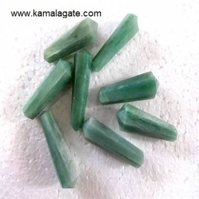 Green Aventurine Double Point Terminated Pencile