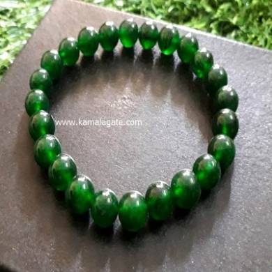 Green Onex 8mm Beads Bracelets